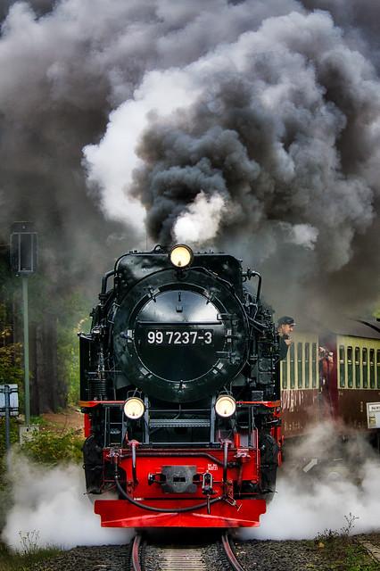 Drei Annen Hohne (Harz) - Dampflok 99 7237-3