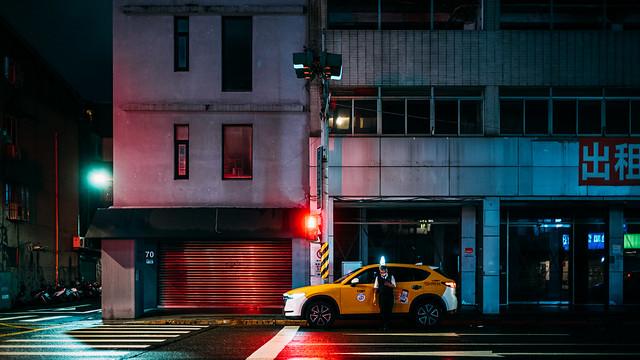 台北,夜間漫遊