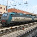 Verona: Locomotiva FS E.405, Verona Porta Nuova (Veneto)