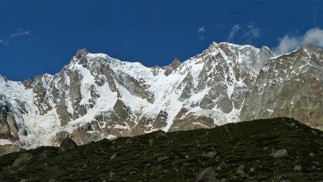 La parete orientale del Monte Rosa