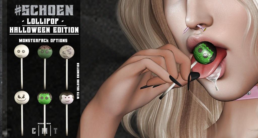 #SCHOEN – Lollipop – Halloween Edition Vendor Pic
