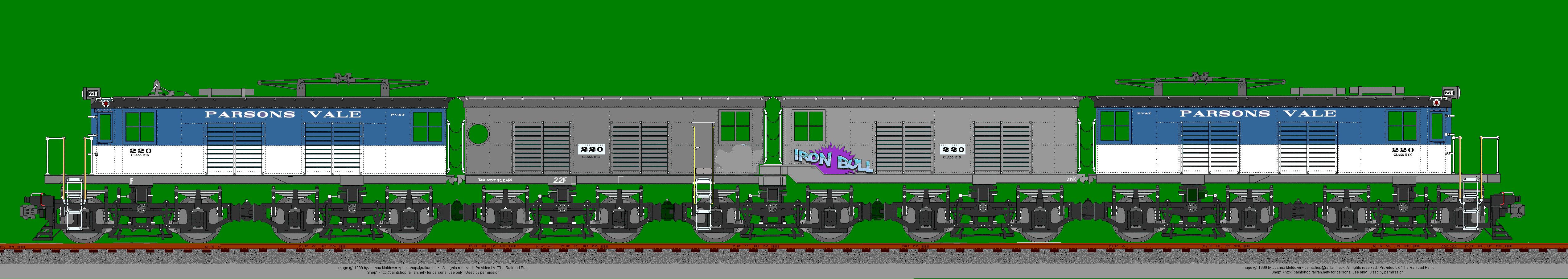 220 -- the class B1x test locomotive