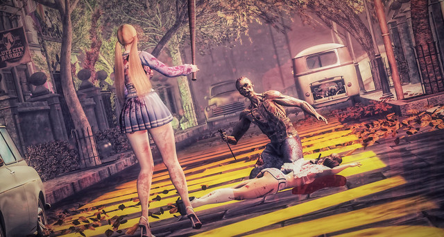 #TemplemoreHalloweenContest - ninoventura -Zombie Attack!