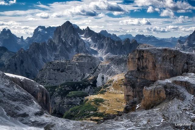 Dolomiti - I Cadini visti da Passo Fiscalino