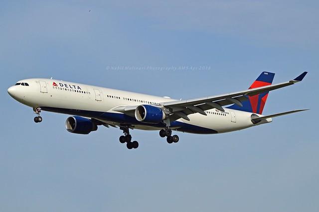 Delta Air Lines N805NW Airbus A330-323 cn/552