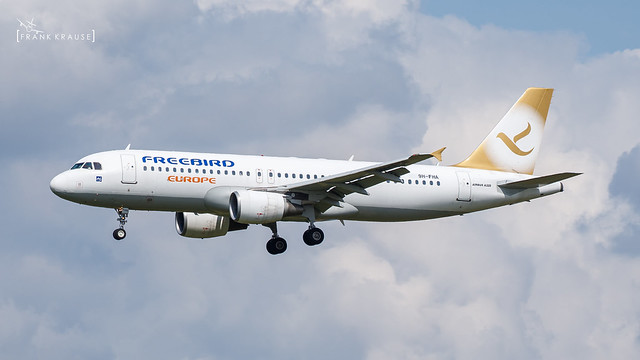 9H-FHA FREEBIRD AIRLINES EUROPE AIRBUS A320-214 CN 4207