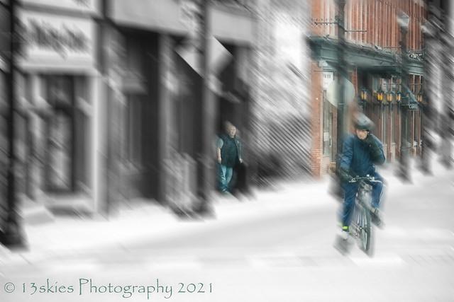 Riding A Bike (HSS)
