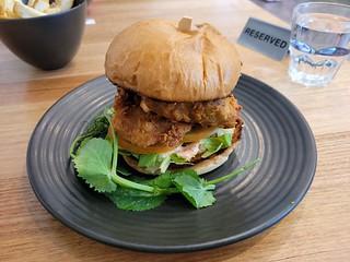 VFC Burger at The Green Edge