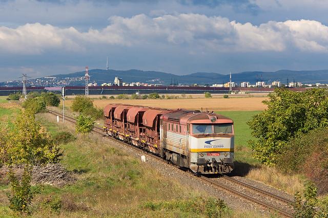 Cigánsky cecek II.   751.082   ZSSK Cargo   Mn 88801   Rovinka - Nové Košariská