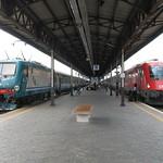 Verona: Locomotiva FS E.464 and ÖBB Reihe 1216, Verona Porta Nuova (Veneto)