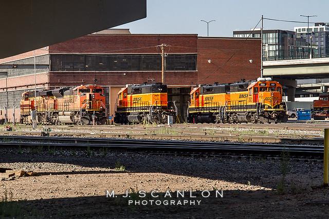 BNSF 2621 | EMD GP39-3 | BNSF 31st Street Yard