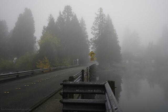 The Bridge Across Steilacoom Lake