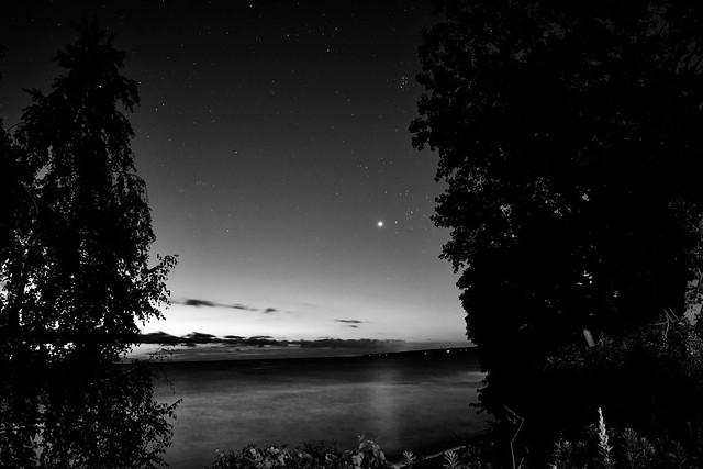 Dawn dawning over Lake Ontario