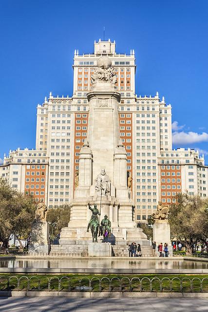 Plaza de España, en 2012