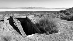 Abandoned mine shaft, Black Rock Desert
