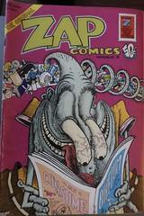ZAP Comics. #comics #comicbooks #undergroundcomics #zap