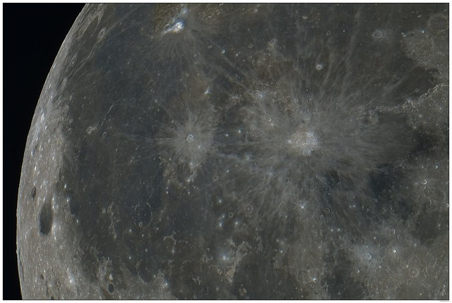 Copernicus, Kepler and Aristarchus in color