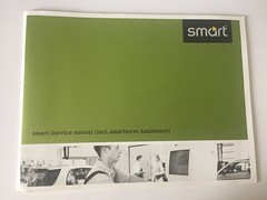 Smart Fortwo 450 Roadster 452 Service Manual