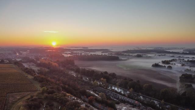 Sunrise on the plain