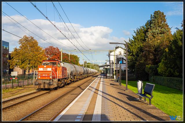 Oisterwijk 15-10-2021, DB Cargo 6412 + UC Sittard