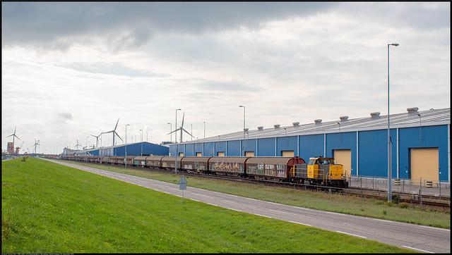 DBC 6461 // Schuifwandwagens // Nieuwdorp, Oostenrijkweg // 10 september 2021