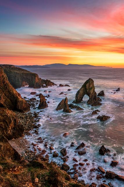 'Bristí Sea Arch of Crohy Head'
