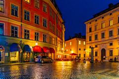 Stockholm bei Nacht / Stockholm at Night 2021