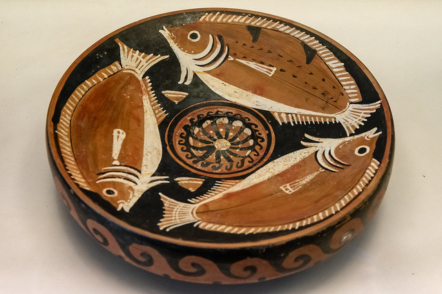 pulian Fish Dish n Fiesole – XVI