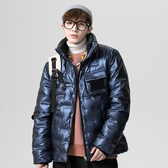 Men's Duck Down Jacket Winter Warm Hooded Coat Thick Jacket Male Casual High Quality Thermal Overcoat Men Hoody Zipper Park