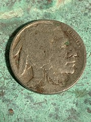 If you look real hard, you might still find an Indian Head Nickel.