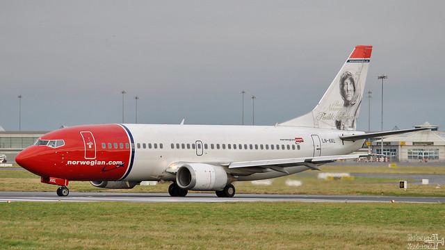 Norwegian 🇳🇴️ Boeing 737-300 LN-KKL