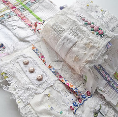 embroidering pages