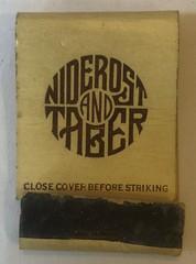 NIDEROST TRABER JEWELERS SAN FRANCISCO CALIF (MIDGET)
