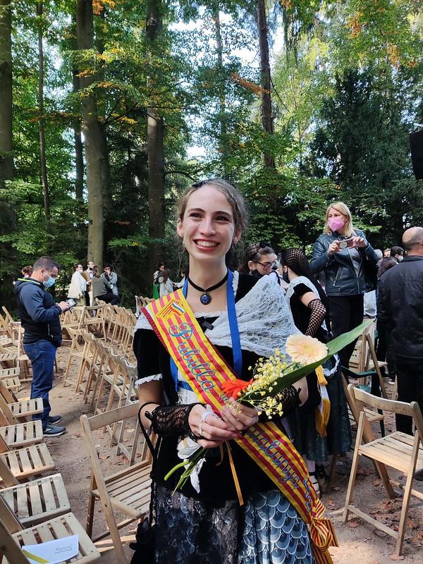 Marta Ferrer, Pubilla de Sitges 2019 proclamada Pubilla de Catalunya 2021