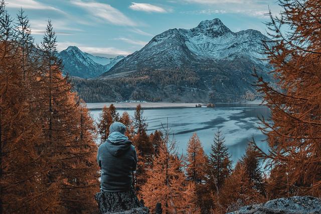Exploring Switzerland - Silsersee
