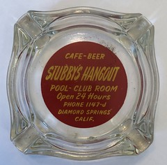 STUBBY'S HANGOUT POOL CLUB ROOM PLACERVILLE CALIF