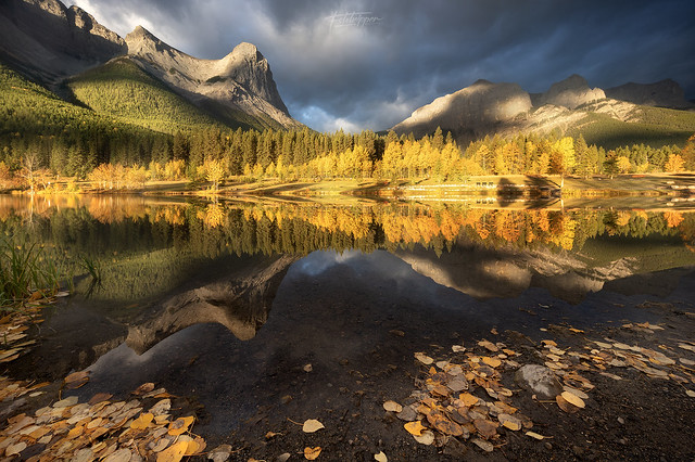 'Goldpatch' - Ha Ling Peak, Canmore