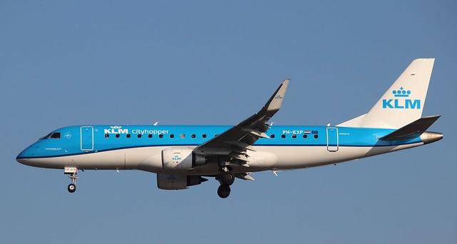 KLM Cityhopper, PH-EXP,MSN 170000678,Embraer ERJ 170-200LR, 25.09.2021, FRA-EDDF, Frankfurt