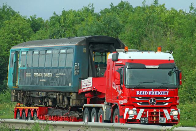 Mercedes Actros Reid Freight SF10 DYC