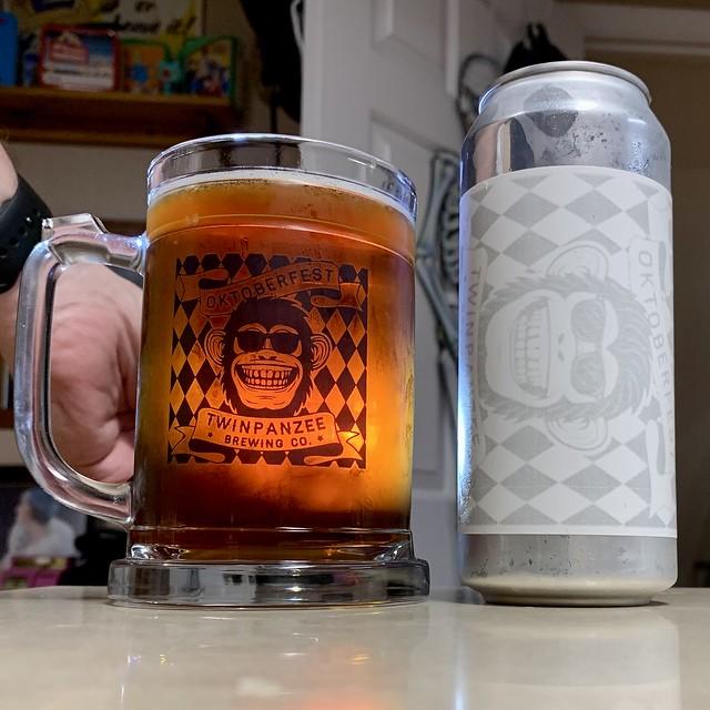 Marzen Monkeys Oktoberfest Beer - Twinpanzee Brewing Company Sterling Virginia