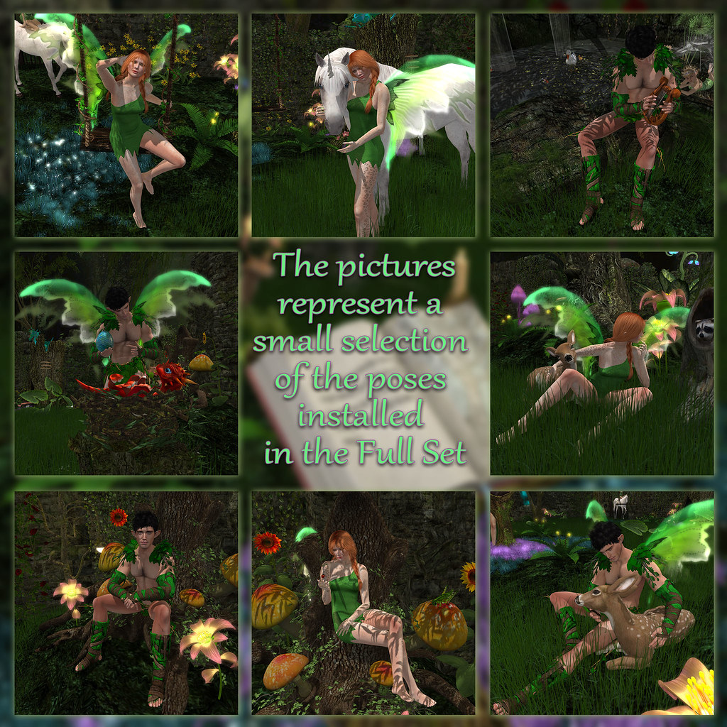 Enchanted Forest – Poses 1