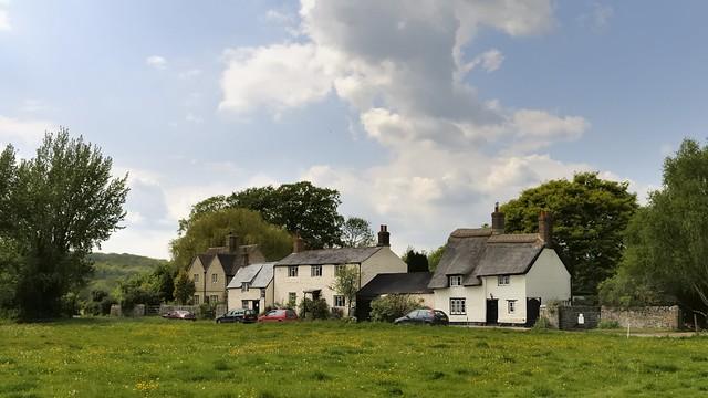 Rustic rural village - Binsey, Oxfordshire, England