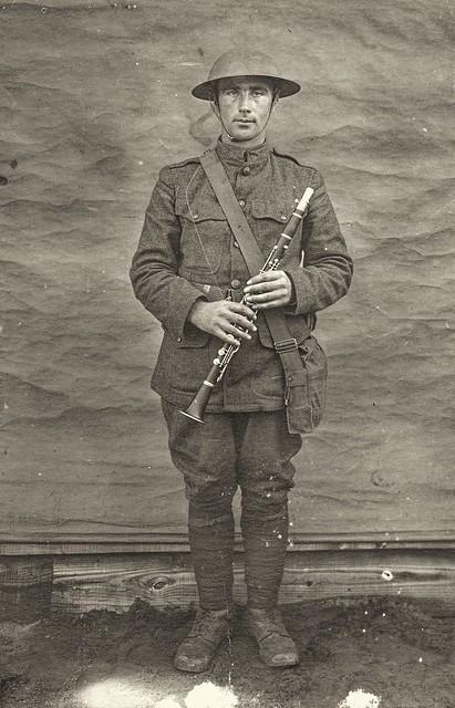 Benjamin Arpke, 326th Field Artillery Band, WW1