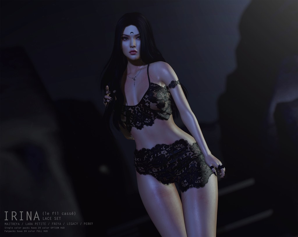 {le fil cassé} Irina Lace Set at FaMeshedX