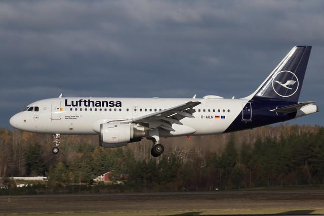 Lufthansa Airbus A319-114 D-AILN 211023 ARN