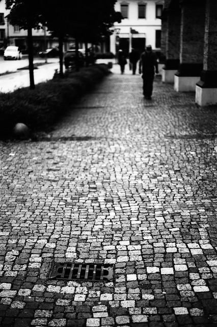 Walk on cobbles