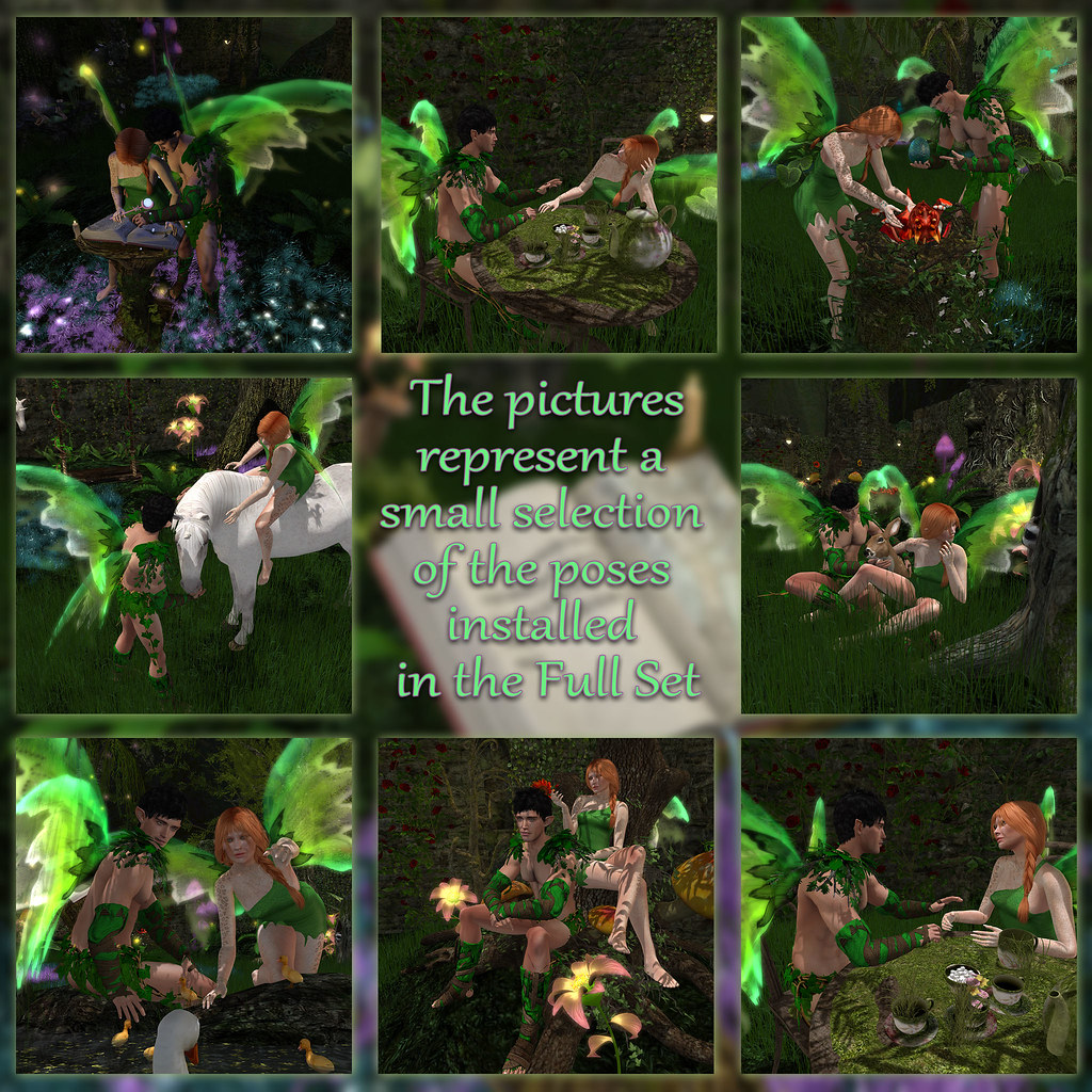 Enchanted Forest – Poses 2