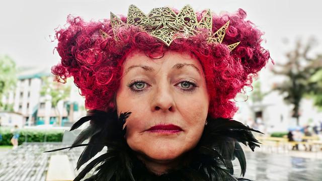 Porträt - Königin der Nacht