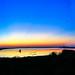 Sunset at the Leonabelle Turnbull Birding Center, Port Aransas/Texas, October 2021