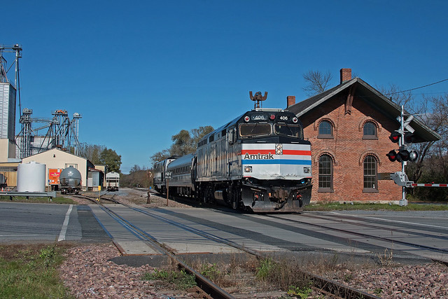 Amtrak 406 New Haven Jct